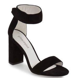Jeffrey Campbell Lindsay Ankle Strap Sandal Suede
